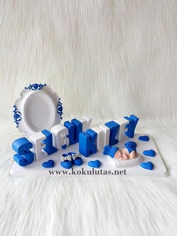 mavi beyaz isimlik
